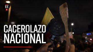 Cacerolazo contra la reforma tributaria: así se manifestaron los colombianos desde sus casas