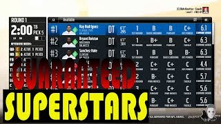 How TO DRAFT GUARANTEED SUPERSTARS AND GOOD PLAYER IN MADDEN 18