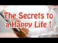 The Secrets to a Happy Life ! ᴴᴰ ┇Powerful Reminder┇ Dawah Team