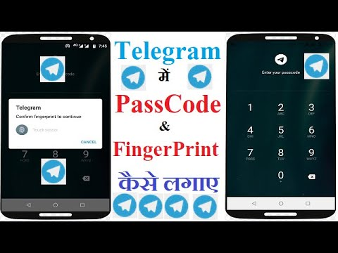 Download How To Enable Passcode And Fingerprint Lock On Telegram(android) | Activate Passcode on Telegram
