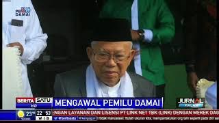 Ma'ruf Amin Pede Menang di Riau