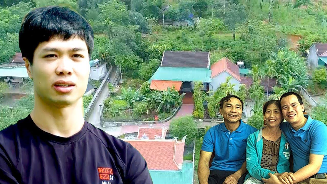 Thăm nhà Công Phượng để hiểu vì sao Phượng xăm ngôi nhà lên da thịt   Vlog Minh Hải
