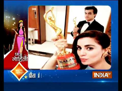 Shraddha Arya And Mohsin Khan Receive Kalakar Awards