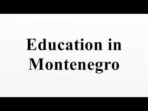 Education in Montenegro