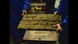 Как сделать мрамор из бетона ч 3 / Hoe maak je een knikker van beton maken