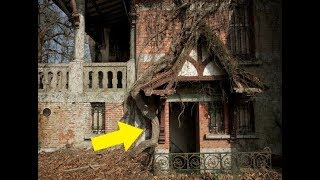 This Guy Broke Into An Abandoned Castle And What He Found There Was Shocking