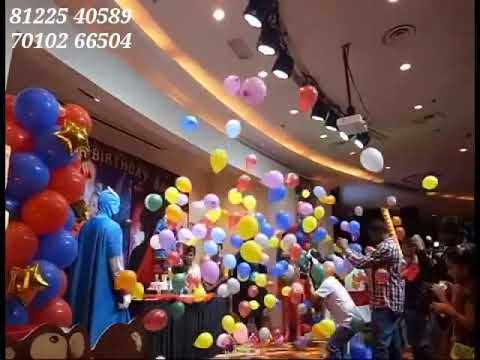 Remote Balloon Blast Entry New concept Birthday Baby Entry party Event India +91 81225 40589