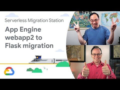 Migrating from App Engine webapp2 to Flask