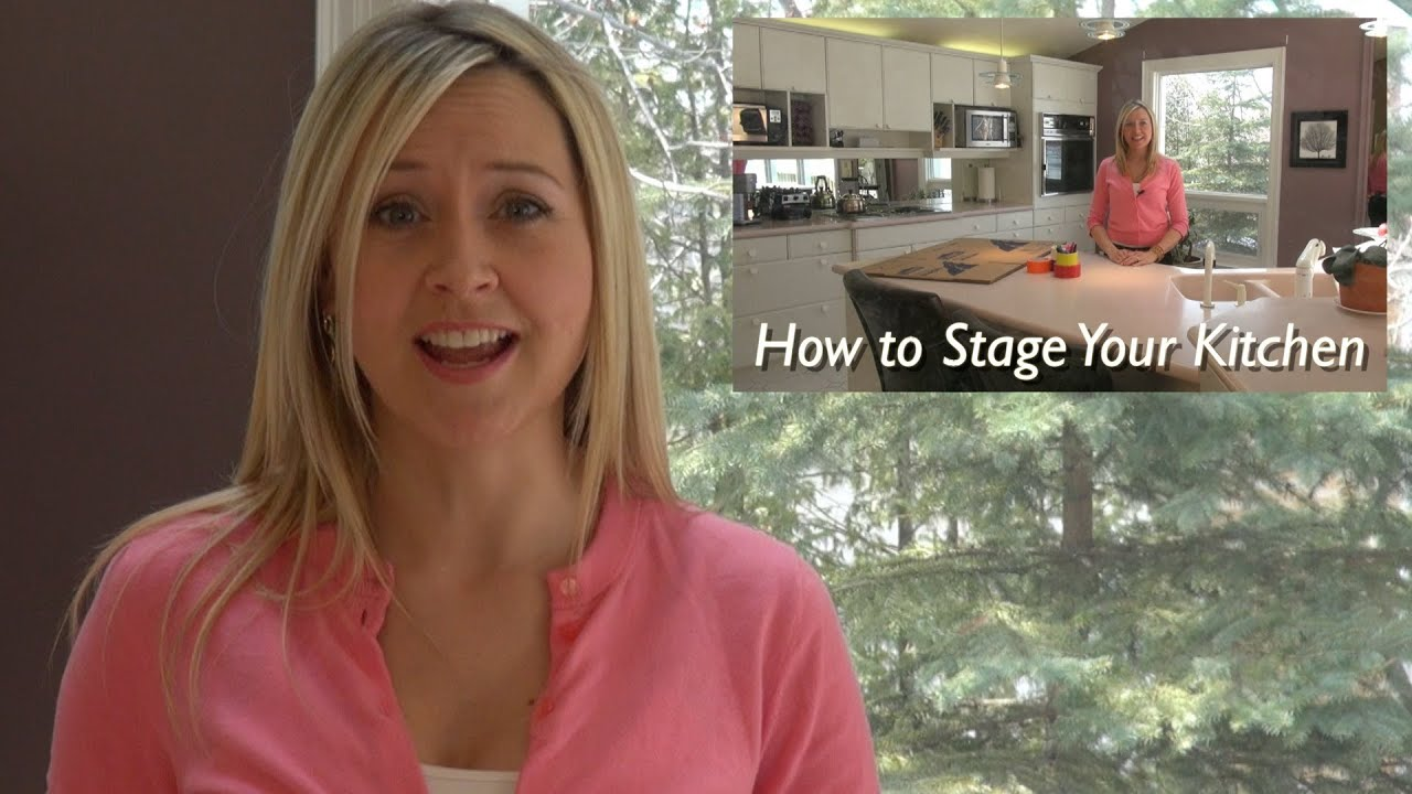 Selling Your Home   How To Stage Your Kitchen In 3 EASY STEPS   YouTube