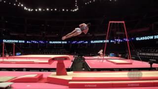 ALEKSANDROV Yordan (BUL) - 2015 Artistic Worlds - Qualifications Vault 1