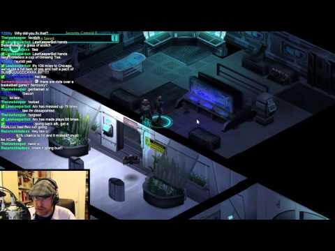 Arv continues his cyber-magi-elf punk run as he streams Shadowrun Returns: Dragonfall (court - 2 / 3