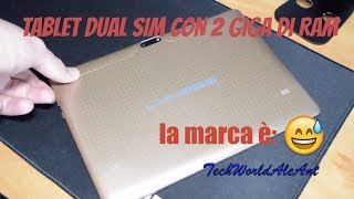 LNBBPS il tablet dual SIM a meno di 100 euro!