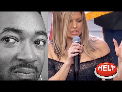 Fergie Performs The U.S. National Anthem / 2018 NBA All-Star Game - REACTION