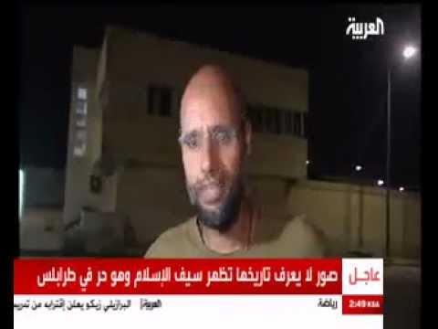 Saif Al Islam Gaddafi Interview in Tripoli 23.08.2011 Rebel & Media Lies Exposed