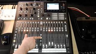 Behringer X32 - Tutorial German / Deutsch - Überblick - Teil 2