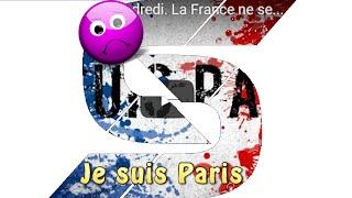 Attaque Terroriste Vendredi. La France ne se mettra jamais à genoux!