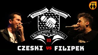 FILIPEK vs CZESKI @ Microphone Masters 10 @ freestyle battle
