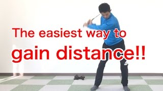 Golf swing / Driver / Slow tips for Distance  [Golf Swing Kinematics Japan]