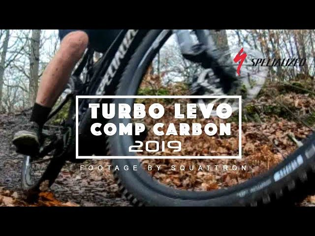 First ride with my new Turbo Levo Comp Carbon 2019 - Paris France