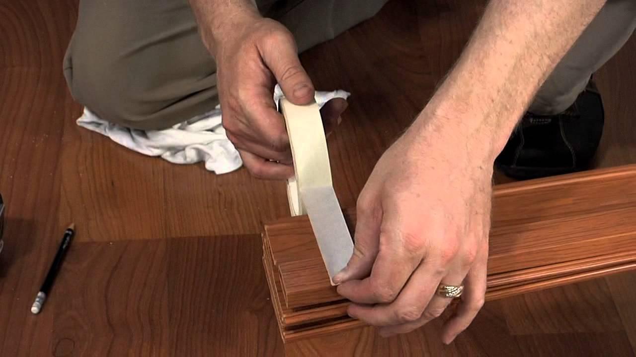Cutting a Via or Contempra Folding Door - YouTube