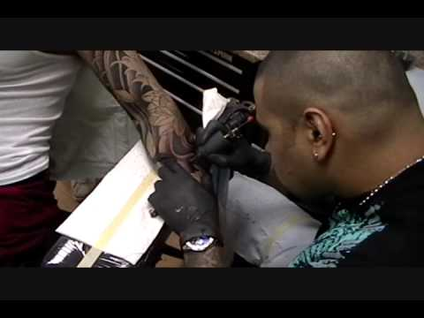 Euphoria Ink Tattoo By Tito ,Step 2, Japanese Tattoo,lotus Flowers