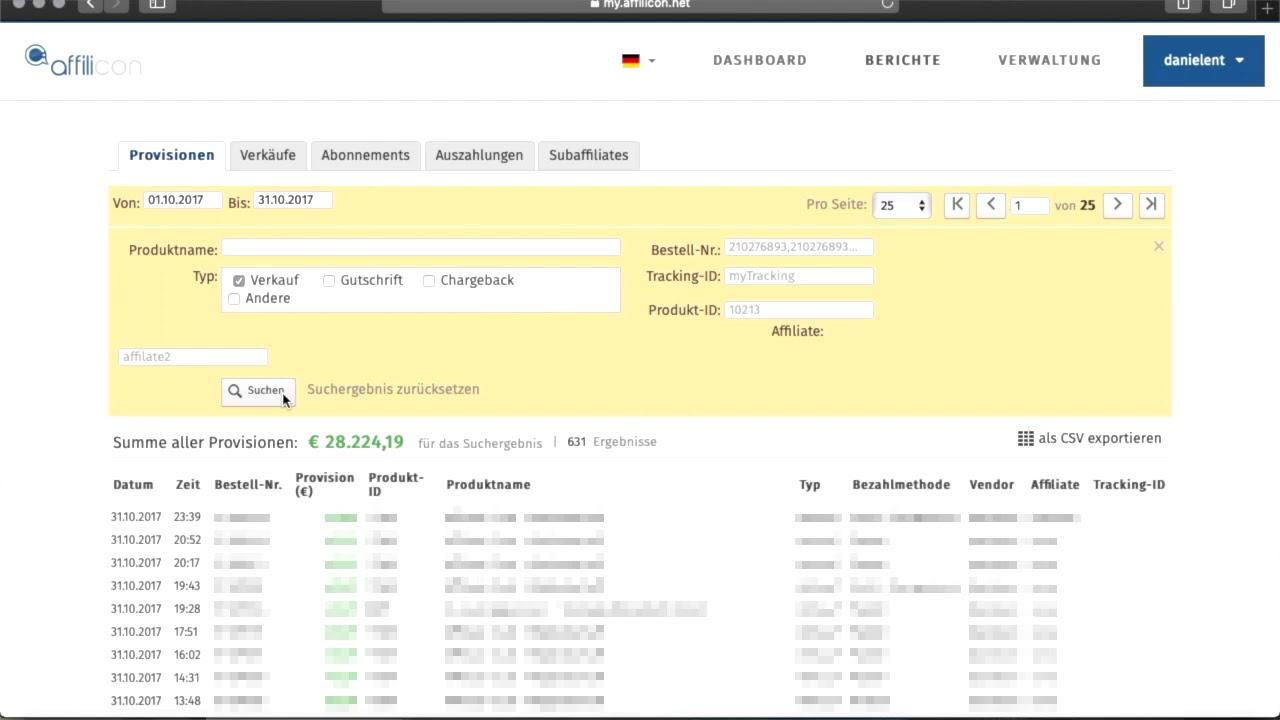 Über 20.000€ pro Monat mit Affiliate Marketing - Echte Einnahmen von 2017