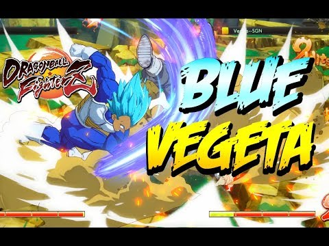 FighterZ The POWER of BLUE VEGETA Dragon Ball FighterZ Game Play |