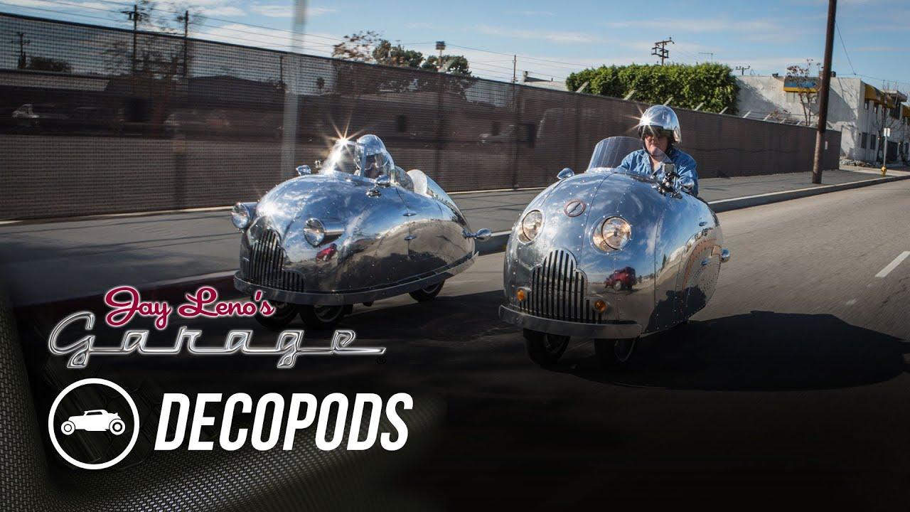 Randy Grubbs Decopods  Jay Lenos Garage  YouTube