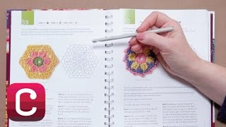 How To Read a Crochet Pattern with Edie Eckman   Creativebug