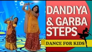 "Dance Steps For Beginners: Navaratri ""Dandiya & Garba Basic Steps"""