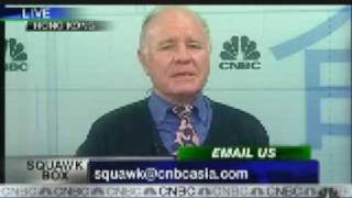 "Marc Faber ""U S will default on debt or enter hyperinflation"" 02-05-09"