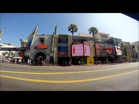 Hollywood, Los Angeles County (L.A.), California, USA - Travel Impressions - Urlaubsvideo