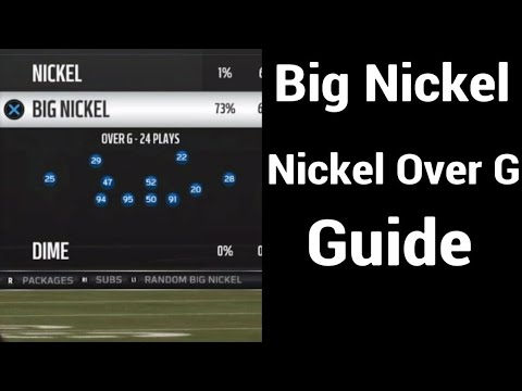 Big Nickel Over G Guide | Madden 19 Ultimate Team Gameplay