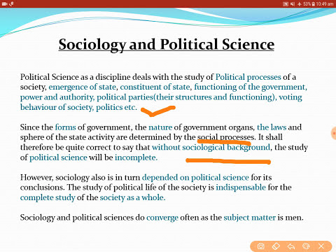 SOCIOLOGY OPTIONAL | UPSC/STATE PCS/ UPPSC | LECTURE 3 | RELATION WITH OTHER SOCIAL SCIENCES