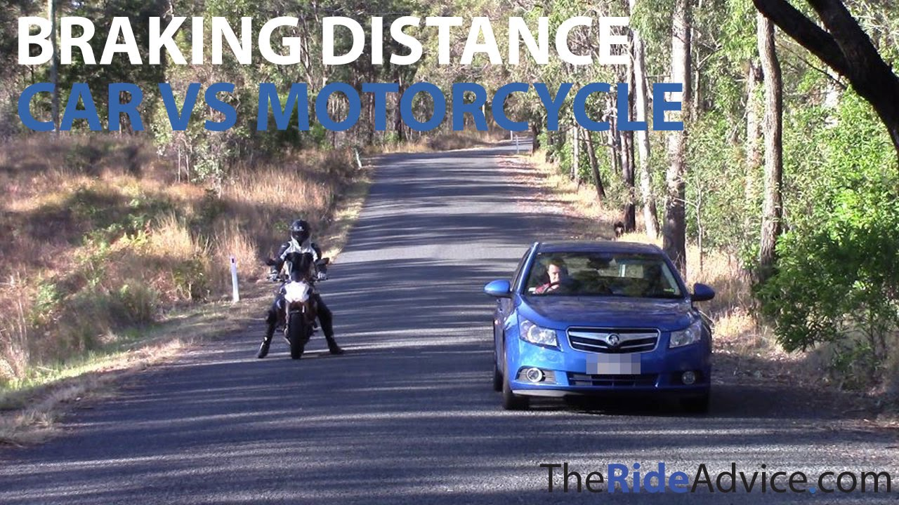 Can A Motorcycle Brake Faster Than Car Youtube Braking Control Maximum When R 0 Short Circuit