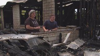 Joy of Christmas fades for South Canterbury family after Boxing Day fire destroys home