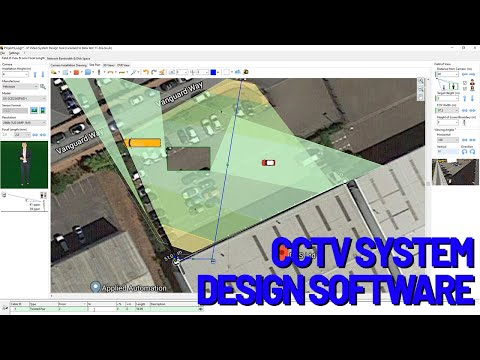 How To Design A Cctv System With Jvsg Software Youtube