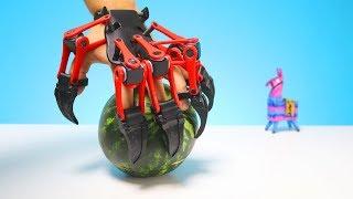 Was richtet eine Krallenhand aus dem 3D Drucker an einer Wassermelone an?