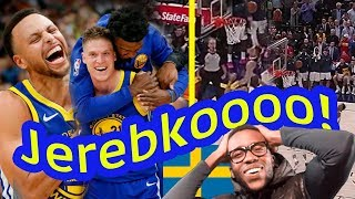 YOU LYIN'?! JONAS JEREBKO DID WHAT TO HIS OLD TEAM? GOLDEN STATE WARRIOR HIGHLIGHTS VS JAZZ
