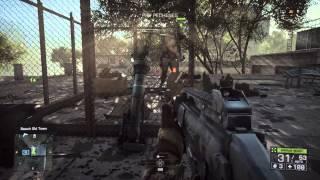 Battlefield 4 - Tashgar:  Reach Old Town & Battle: Destroy Tank w RPG-7, PKP (LMG) SV-98, MBT LAW