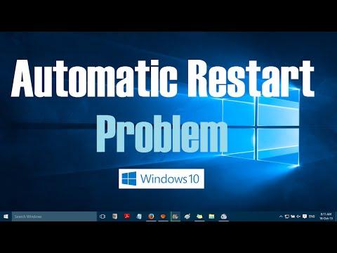 Windows Restarts Automati