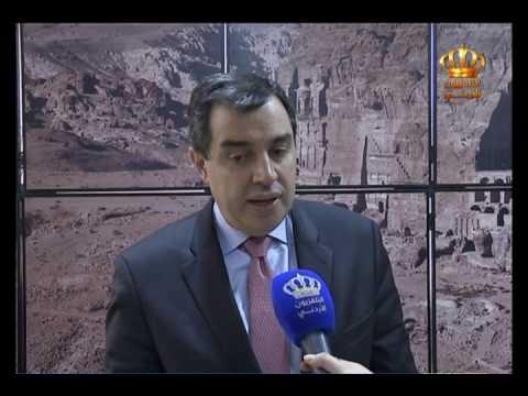 English News at Ten on Jordan Television 09-03-2017