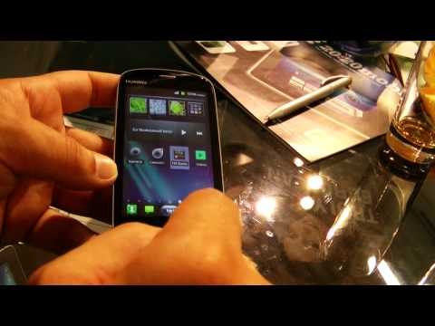 Huawei Vision con interfaccia SPB Mobile Shell 3D Android