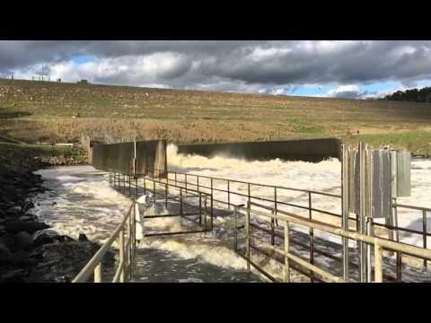 Jordan Lake Dam Outflow
