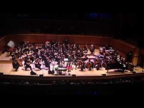 """""""The World Is Not Enough"""" - David Arnold live performance"""