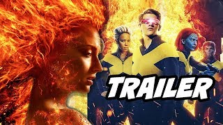 X-Men Dark Phoenix Official Trailer and Marvel Easter Eggs