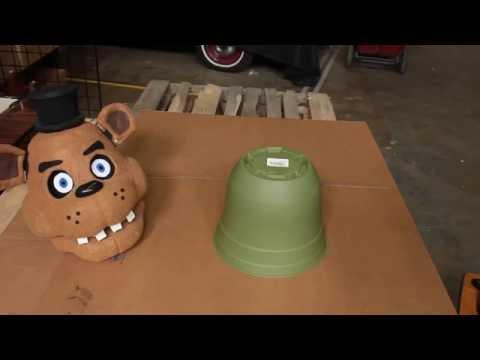 Маска спрингтрапа/Springtrap mask из Five nights at Freddys
