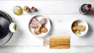 Tefal ActiFry - Пикантни пилешки бутчета