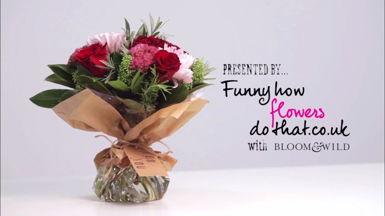 Diy flower bouquet youtube diy flower bouquet izmirmasajfo Image collections