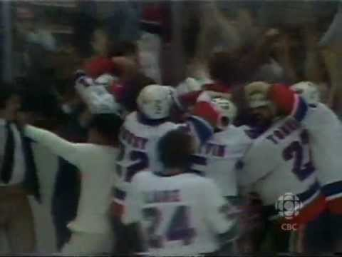 Bob Nystrom scores the overtime winner (May 24, 1980)